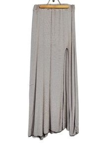Brandy Melville Long Slit Maxi Skirt knit